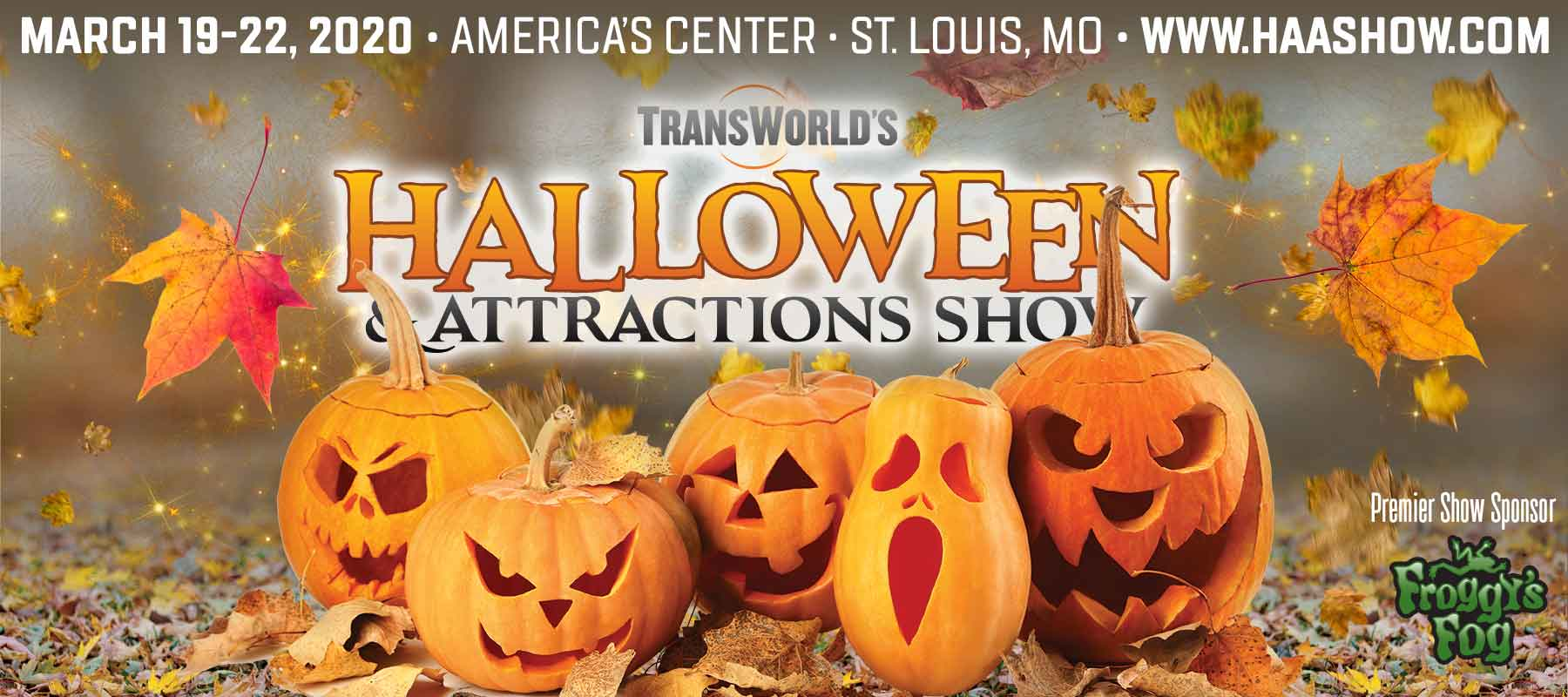 St Louis Halloween 2020 TransWorld's Halloween & Attractions Show and Christmas Show