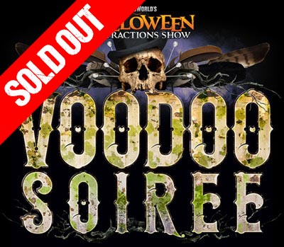 Voodoo Soiree - SOLD OUT