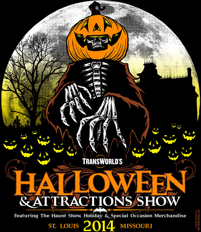 Halloween & Attractions Show 2014 T-Shirt