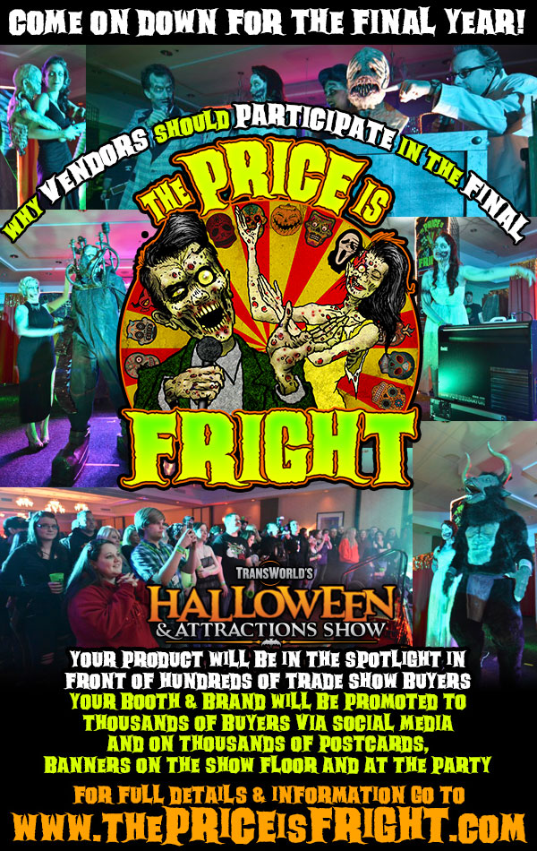 Transworld Halloween 2020 Scares HAUNT VENDORS: The FINAL Price Is Fright Needs YOU!   TransWorld's