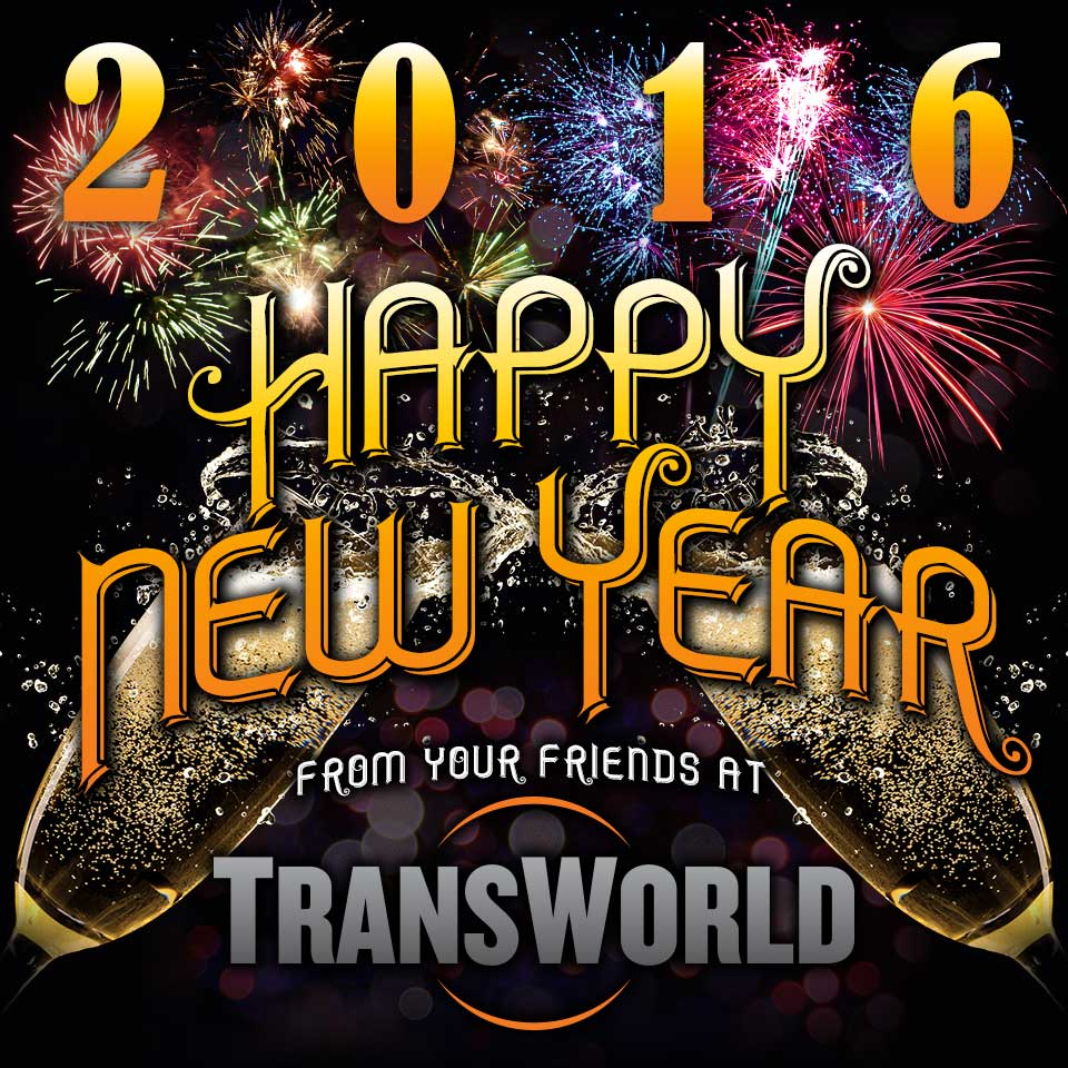 Happy New Year from TransWorld Trade Shows!
