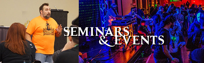 Register NOW for Seminars and Events