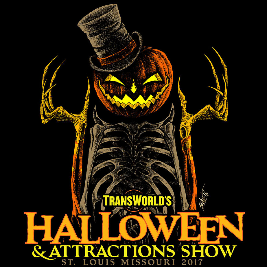 The halloween attractions show t shirt 2017 transworld for T shirt design 2017